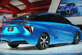 hydrogen fuel cell car toyota toyota offering one free hydrogen fuel cell vehicle lancaster