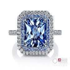 light blue sapphire ring yellow sapphire omi prive blog