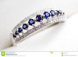 Geode Engagement Ring Box Diamond And Sapphire Engagement Ring Stock Image Image 16153741