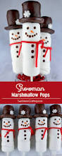 snowman marshmallow pops two sisters crafting