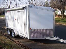 Enclosed Trailer Awning For Sale 2008 Rance Renegade Enclosed Trailer With Awning