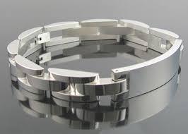 stainless mens bracelet images Blackjack men 39 s stainless steel jewelry jpg