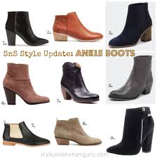 sns style update ankle boots style u0026 shenanigans