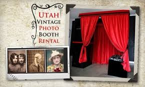 photo booth rental utah utah vintage photo booth rental deal of the day groupon