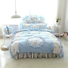 Ruffle Bed Set Elegant Bed Sheet Smartwedding Co