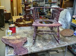 Rocking Chair Seat Repair Frontier Furniture Repair And Restoration 1910 U0027s Mixed Wood