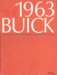 buick car brochures from 1961 to today