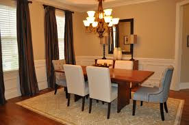 dining room decor with chair rail decoraci on interior