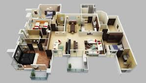 house plans with 4 bedrooms furniture design ideas dimension bedroom apartment