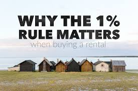 why the one percent rule and gross rent multiplier matter