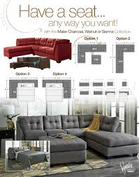 charcoal sectional sofa maier charcoal sectional sectional sofa sets