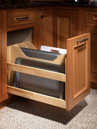 Kitchen Cabinet Garbage Drawer Custom Kitchen Cabinets Dewils Fine Cabinetry