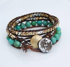 wrap bracelet with beads images Video tutorials make bracelets jpg