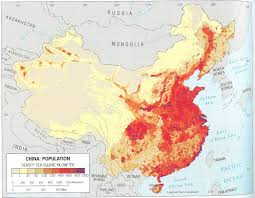 China In Map Of World by Maps China U0027s Internal Migration
