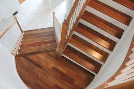 Stairs With Landing by Hickory Stair Tread Remodel Translatorbox Stair