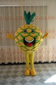 new style christmas fancy dress pineapple mascot costumes