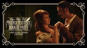 Rachel Allen Dinner Party - edgar allan poe u0027s murder mystery dinner party ch 3 the purloined