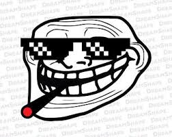 Memes Faces Download - troll face etsy
