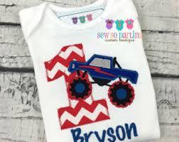 monster truck toddler boys shirt big lifted truck shirt