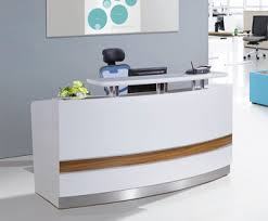 Reception Desk Curved Small Curved Used Reception Desk Salon View Reception Desk