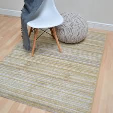 Modern Stripe Rug by Focus Stripes Rugs Fc05 In Ochre Free Uk Delivery The Rug Seller