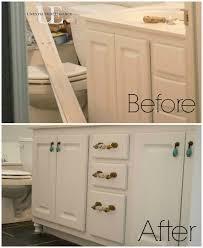how to transform a builder grade bathroom vanity for less hometalk