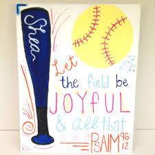softball painting canvas art pinterest softball things