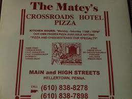 crossroads hotel hellertown pa keystone pizza critic