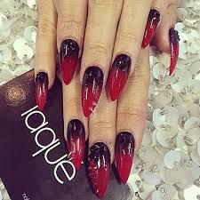 red to black ombre nails nail u0027d it pinterest vanessa hudgens
