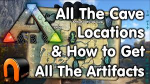Show Me A Map Of Arkansas Ark Cave Locations U0026 How To Get All The Artifacts Youtube