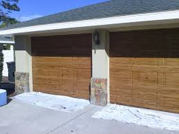 Faux Paint Garage Door - faux wood doors u2013 ocala faux finish
