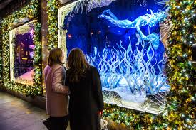 saks fifth avenue lights see new york s sparkliest holiday windows