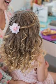 25 best flower girl hairstyles ideas on communion