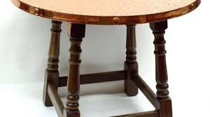 Hammered Copper Dining Table Copper Dining Tables Copper Dinette Sets Hammered Copper Tables