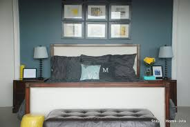 Yellow And Gray Bedroom by Stay At Home Ista Grey And Yellow Master Bedroom Updates