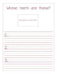 whose teeth are these interactive dental health bulletin board idea