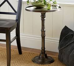 Pedestal Accent Tables Round Metal Accent Table Ideal And Stylish Metal Accent Table