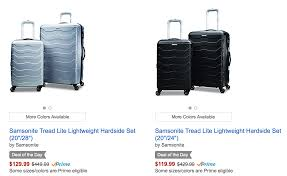 up to 70 samsonite luggage on point me to the plane