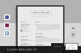 clean resume template resume template photos graphics fonts themes templates resume cv