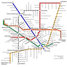 Marta Rail Map Fantasy Transit Maps Market Projects Construction Ridership