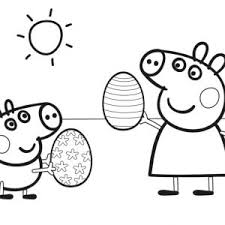coloring pages peppa the pig coloring pages online peppa pig new peppa pig coloring pages easter