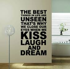 home decor free shipping 60 100 the best thing hot sale word quote wall decor free