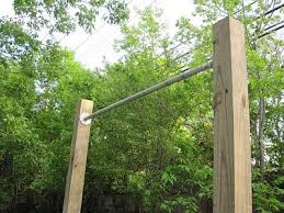 Backyard Pull Up Bar by Back Yard Fitness