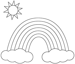 blank flag coloring page funycoloring