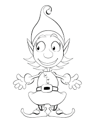 printable elf coloring pages elf on the shelf coloring pages for x free printable elf on the elf