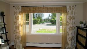 bedroom curtain ideas large windows youtube