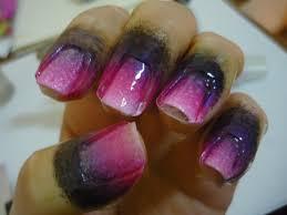 ombre nails lekker lacquer