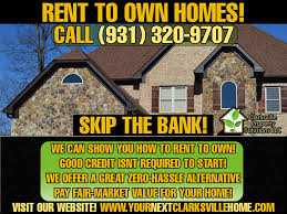 how you can find free rent to own home listings in clarksville tn