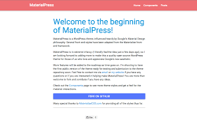 Material Design Ideas Introducing Materialpress U2013 A Material Design Wordpress Theme
