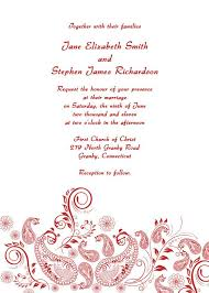 mehndi invitation wording templates classic free wedding invitation cards templates with